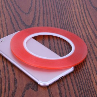 1.3M Transparent Double Side Adhensive Tape High Temperature 3mm (Red) - intl - 3