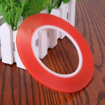 1.3M Transparent Double Side Adhensive Tape High Temperature 3mm (Red) - intl - 2