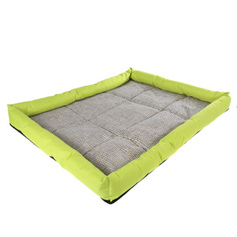 Harga New Soft Pet Dog Summer Cooling Bed Mat(Yellow) (EXPORT)