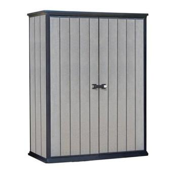 Harga Keter High Store Shed - Brown Grey