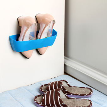 Harga New magnetic suction wall shoe rack