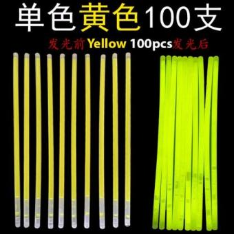 Harga Glow Light Stick - Yellow 100pcs