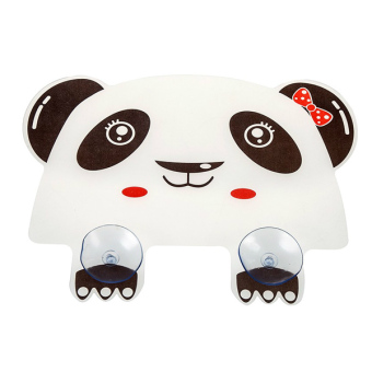 Kitchen sink sink flap cute panda anti splash water retaining plate riser board bathroom vanity sink