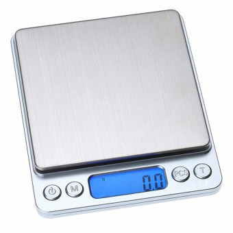 Harga 0.01oz/0.1gram 2000g Precise Kitchen Scale Small Digital Electronic Weighing Scale for Baking food and Jewelry