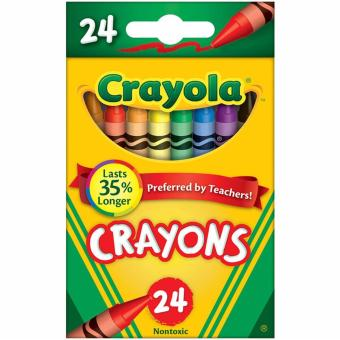 Harga Crayola 24-Colour Crayons (lasts 35% longer)