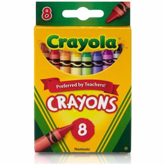 Harga Crayola 8-Crayons in a peggable box