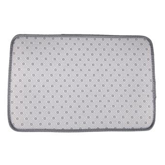 Fluffy Rugs Anti-Skid Rug Carpet Floor Mat Grey - 5