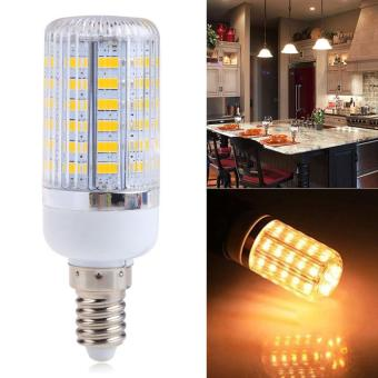 Harga E14 12W 56SMD 5730 5630 LED Spot Light Corn Lamp Bulb Warm White AC220V