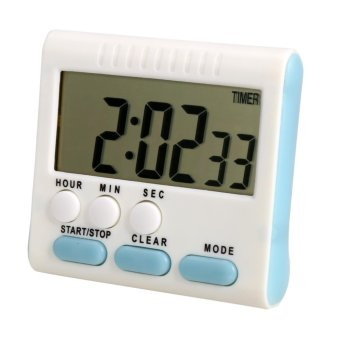 Harga New Large Kitchen LCD Digital Kitchen Timer Alarm Count Up Down Clock 24 Hours - intl