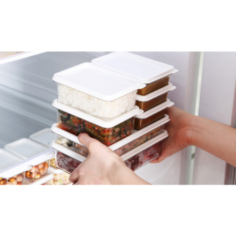 Changsin Living Set of 20 Space saving Food Storages Containers with Lids BPA Free (Export) - 3