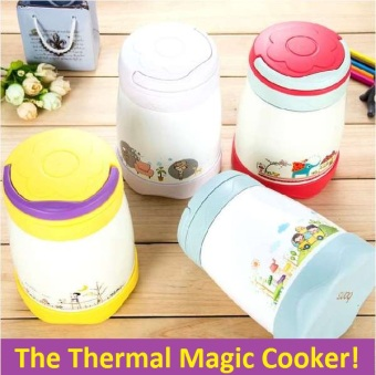 Harga Magic Cook Pot / Thermal Cooker Pot / Thermos Flask / Kids Lunch box / Lunchbox