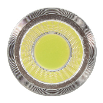 MR16 E27 E14 GU10 6W 9W 12W COB LED Dimmable Downlight Globe Bulbs Spot Light Natural White - Intl