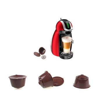 Harga Refillable Dolce Gusto Capsule Reusable Pods Filter Coffee Cup - intl