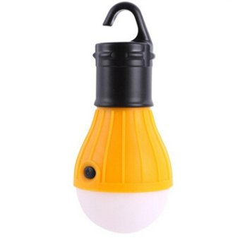 Outdoor Hanging LED Camping Tent Light Bulb Fishing Lantern Lamp(Yellow)