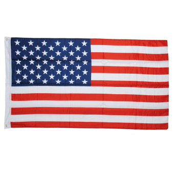 Harga 3x5' ft American Flag USA US U.S Stars & Stripes United States Brass Grommets