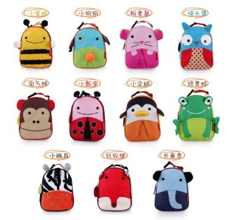 Children fostered children animal lunch bag cartoon bag small child baby portable meal bag lunch bag insulation