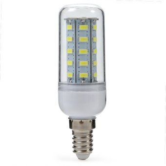 Harga E14 LED Corn Light 4W 400LM 36 SMD-5730 6500K (COOL WHITE LIGHT)