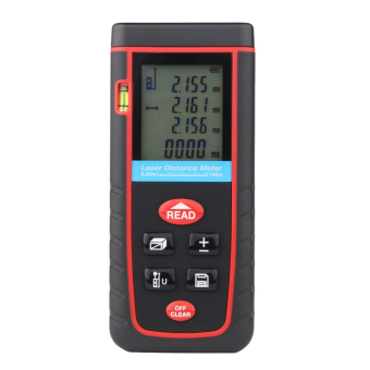 100M Handheld Digital Laser Distance Meter Range Finder Measure Diastimeter - intl