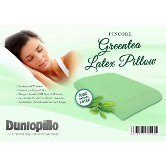 DUNLOPILLO 100% Natural Latex + Green Tea (Pincore Loft) Pillow