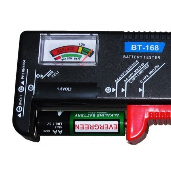 Harga Universal Battery Tester Checker for AA / AAA / C / D / 9V / 1.5V Cell Tester Strong or Weak