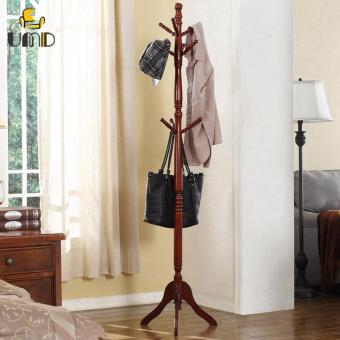 Harga Space Saving Solid Wood Clothes Hanger/Clothes Rack