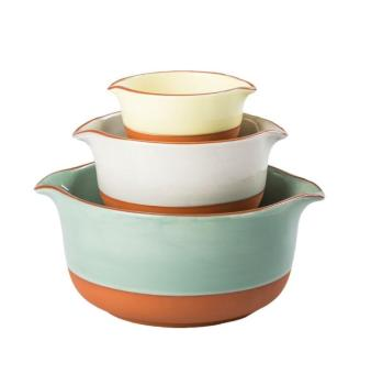 Harga Handpainted Nested Serving Bowls