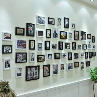 Harga Beauty products european modern creative living room photo wall decoration photo frame wall combination photo frame wall hanging painting wall