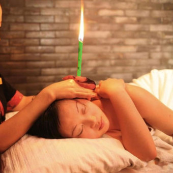 Harga Beewax Cleaner Quicker Ear Candling Therapy Straight Style Ear Care & Ear Candle