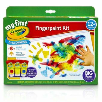 Harga Crayola My First Fingerpaint Kit