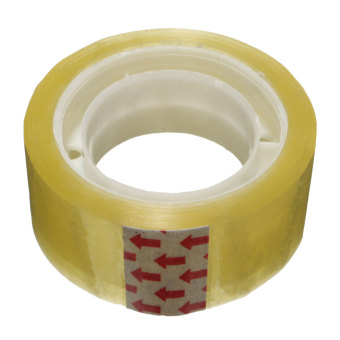 Harga Clear Sellotape Sticky Packing Tapes Parcel Tape Roll Stationery Adhesive Tape