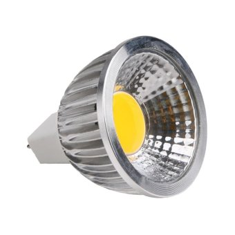 Harga COB 3w Dimmable Led Cob Spotlight MR 16 12V Bulb Lamp (White) - intl