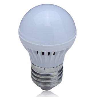 E27 1W Warm White Energy Saving LED Globe Light Bulb 220V - intl