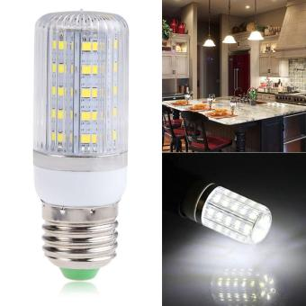 Harga E27 7W 36SMD 5730 5630 Light LED Corn Lamp Bulb Cool White AC220V