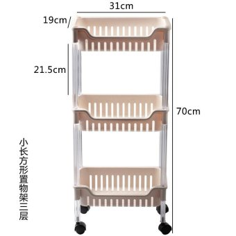Harga Pedestal bathroom finishing rack shelf storage rack kitchen shelf glove storage vegetables new plastic crystal dew