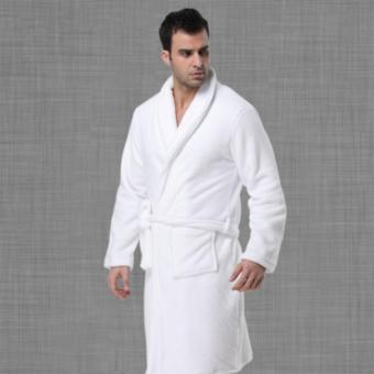 Harga Microfiber long sleeves Bathrobe: Unisex, Good Quality, Soft and Comfortable