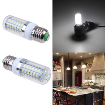 Harga Fashionable 12W E27 56SMD5730 LED Light/Corn Lamp Bulb White AC110V - intl