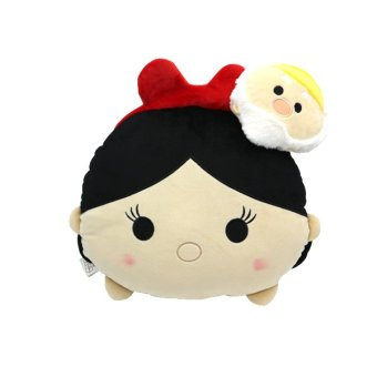 Harga Disney Tsum Tsum Kawaii Cushion Snow White & Haapy