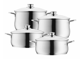 Harga WMF Diadem Plus 4pc Cookware Set