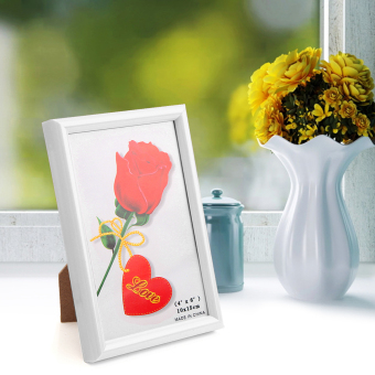 Harga Photo Frame Picture Home Decor Birthday Present White - intl