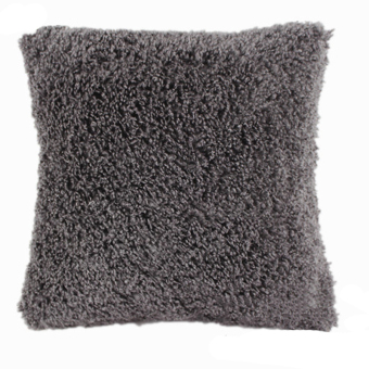 Harga Jetting Buy Soft Plush Sofa Square Pillow Case - Grey