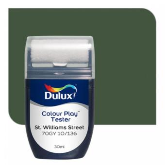 Dulux Colour Play Tester St. Williams Street 70GY 10/136