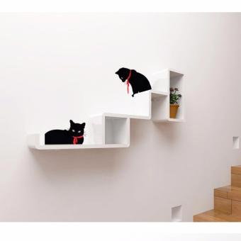 Harga Cubics MINI DIY Furniture Wall shelf Cat Tower