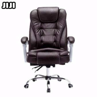 Harga JIJI Ergonomic Pu Leather Boss Office Chair (Without Leg Rest)