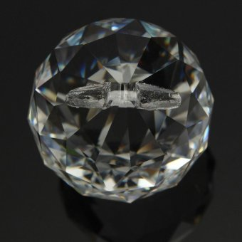 50mm Clear Crystal Glass Ball Lamp Prisms Part Decoration Pendant Bead FENG SHUI - intl - 3