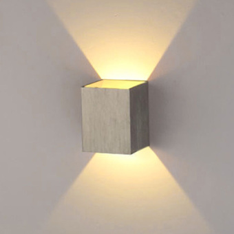 Harga Yika 3W LED Square Wall Hall Walkway Living Room Lamp Light (Yellow)