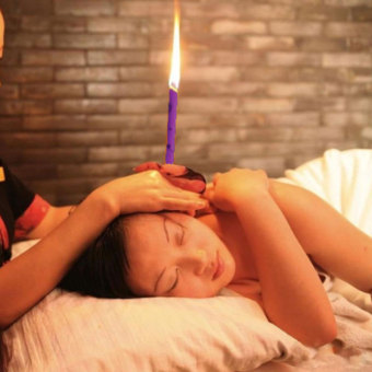 Harga Natural Coning Beewax Ear Candling Therapy Straight Ear Care & Ear Candle
