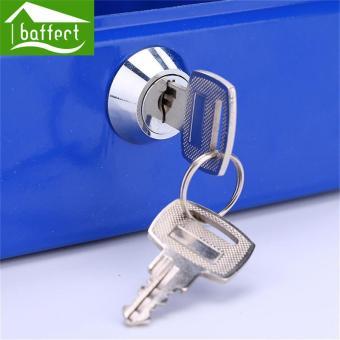 BAFFECT 15*12*8cm Safe Coin Piggy Bank Lockable Metal Saving Cash Boxes Jewelry Storage Key Box (Black) - intl - 4