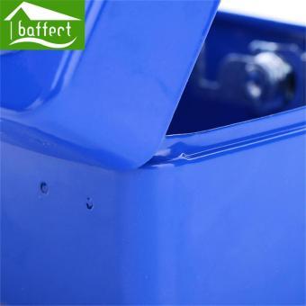 BAFFECT 15*12*8cm Safe Coin Piggy Bank Lockable Metal Saving Cash Boxes Jewelry Storage Key Box (Black) - intl - 2