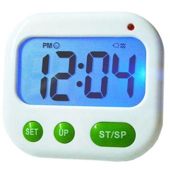 Harga Alarm Clock Timer CountDown Digital LCD 24 hours Kitchen Sport ( Music / Vibration) - Intl
