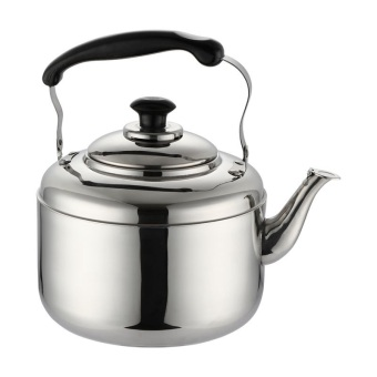 Harga whistling kettle water pot 5L Stainless steel kettle household heat on gas / induction cooker general kettle